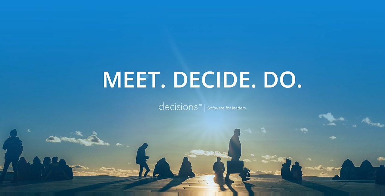 Det norske oppstartsselskapet Decisions leverer en løsning for møtehåndtering som er integrert med Microsoft Office 365 og Outlook.