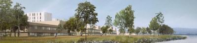 Det investeres 8,6 mrd i nytt sykehus på Brakerøya i Drammen. Denne investeringen er det en vilje om at skal benyttes som en motor i utvikling av nye løsninger, produkter og tjenester på flere områder. Prosjektledelsen for bygging av det nye sykehuset ønsker å se på mulighetsrommet; både i gjennomføring av selve byggeprosessen, i utformingen av bygget og i forhold til å få de mest brukervennlige og fremtidsrettede tjenestene i bygget når sykehuset står ferdig i 2024.