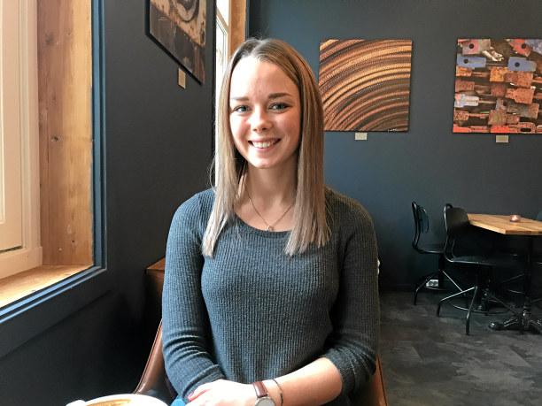 Møt Kristine Lundby. Hun er en av ca. 60 lærlinger fra Hedmark og Oppland som har hatt praksis i utlandet.