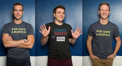 Billettene røk ut da det ble kjent at podcast-heltene fra Pod Save America skal spille inn podcasten direkte fra Sentrum Scene i januar, etter invitasjon fra NHO. I løpet av kun tre dager var innspillingen fullstendig utsolgt.