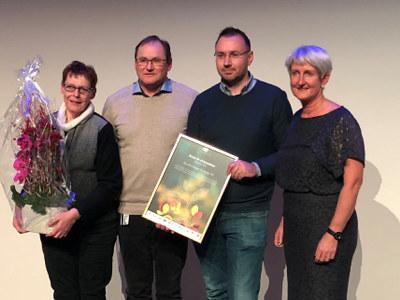 Smurfit Kappa Norpapp fra Hønefoss ble kåret til årets IA-bedrift i Buskerud. Prisen ble overrakt på den årlige IA-konferansen, som ble arrangert på Krona i Kongsberg torsdag denne uken.