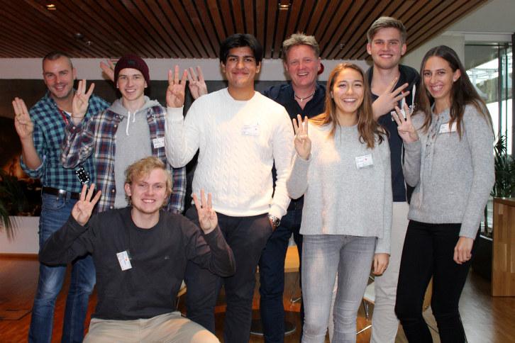 Takk til elever og rådgivere ved Ullern vgs. for gode innspill til Workify! Foto: Anne Birgitte Hjelseth, NHO