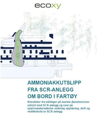 Ecoxy AS har gjennomført et FoU-prosjekt på vegne av NOx-fondet for å finne ut om ammoniakkutslipp fra fartøy som har SCR-anlegg installert er et problem.