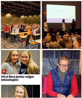 Skal vi klare å møte morgendagens utfordringer må vi ha flere jenter som ønsker å studere teknologi og realfag.