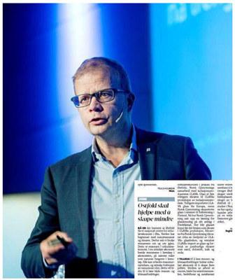 Regiondirektør Roald Gulbrandsen skriver i Moss Avis om hvordan Østfold hjelper Norge med å skape mer med mindre - samtidig som det skapes nye arbeidsplasser i fylket vårt.