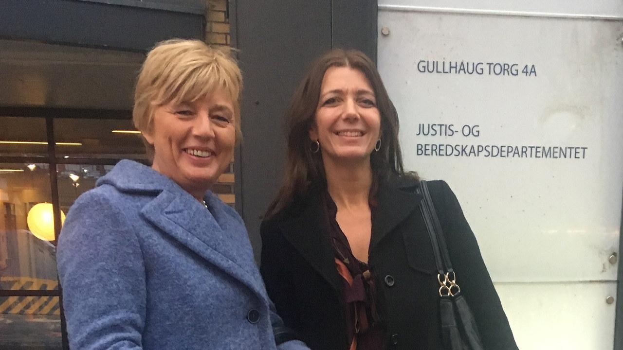 Erna Hagensen og Anne-Cecilie Kaltenborn