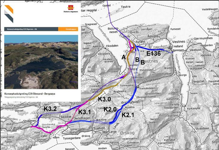 Å legge nye E39 på en fjellovergang vil være å rygge inn i fremtiden, mener regiondirektør Torill Ytreberg i NHO Møre og Romsdal.
