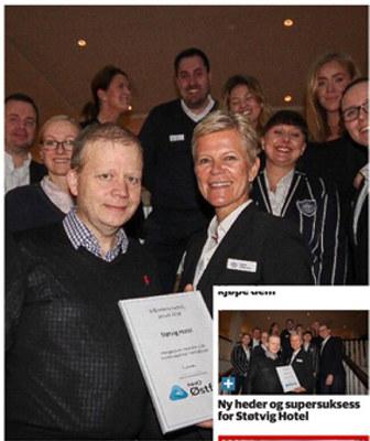 I 2013 åpnet Støtvig Hotel i Larkollen dørene. Etter det har de fått en rekke utmerkelser. Nå er hotellet også blitt NHO Østfolds månedens bedrift for januar 2018.