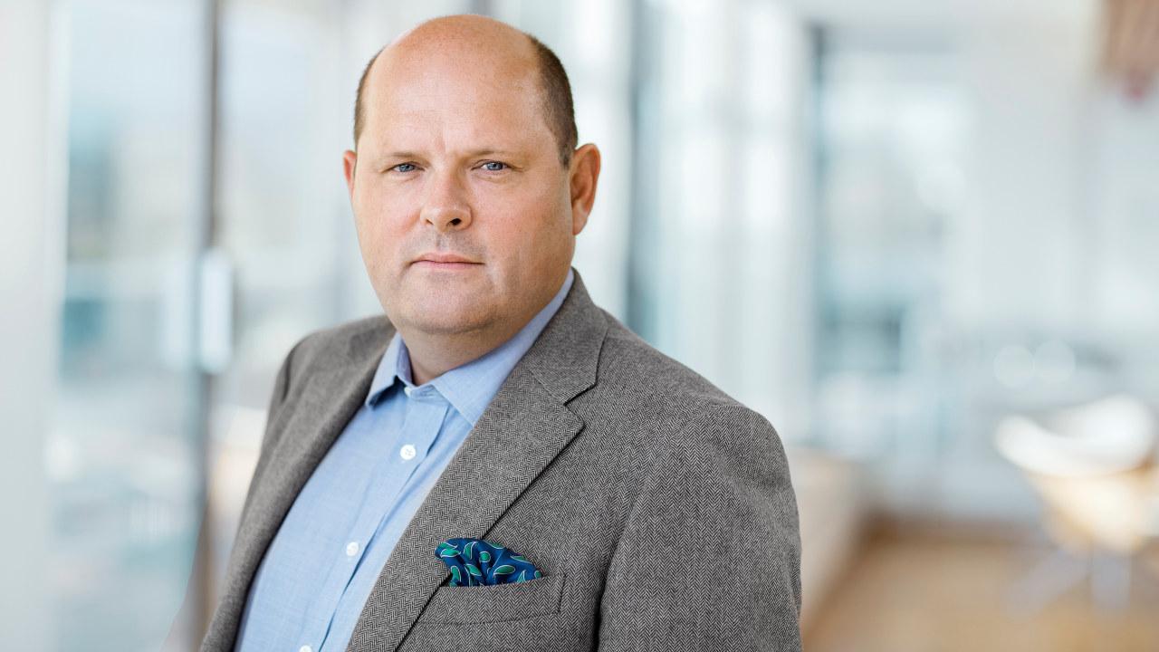 Portrettfoto av Petter Haas Brubakk
