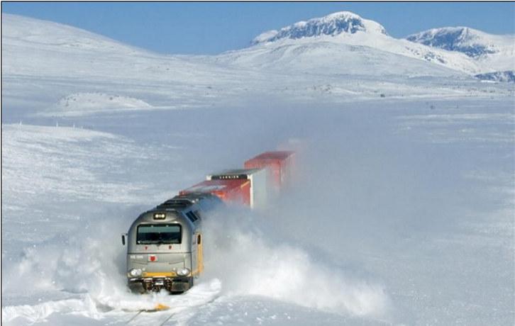Nordlandsbanen, biogass