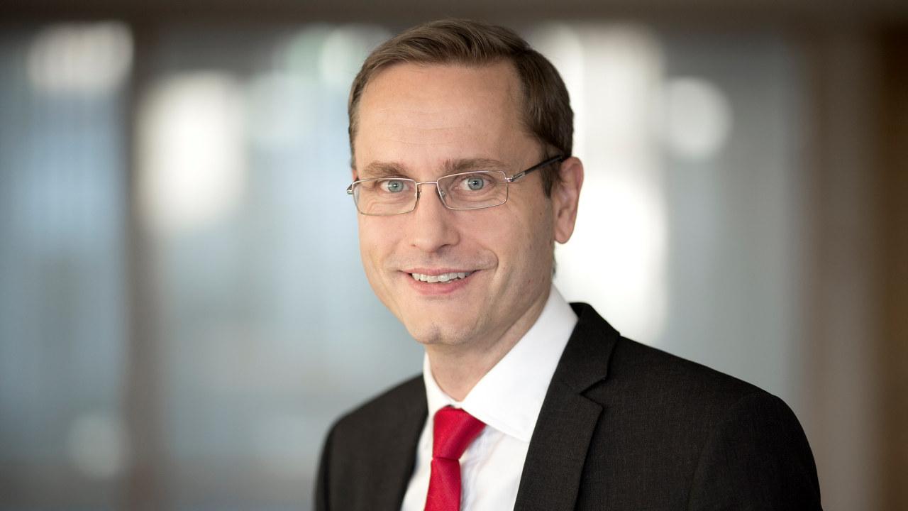 Portrett av administrerende direktør Snorre Storset i Nordea