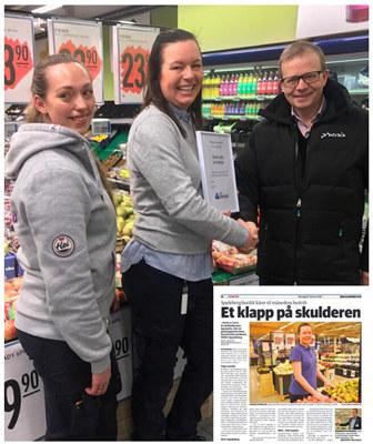 Rema 1000 Spydeberg er NHO Østfold månedens bedrift i februar.