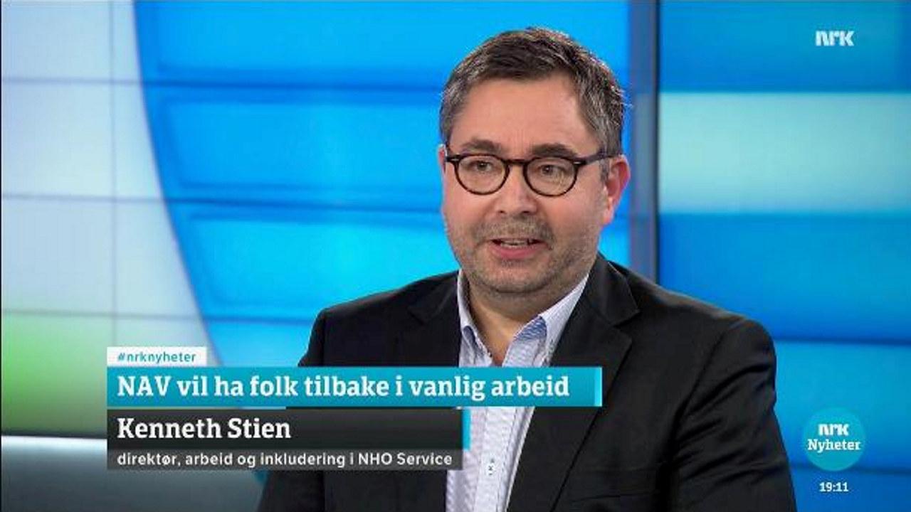Kenneth Stien på NRK