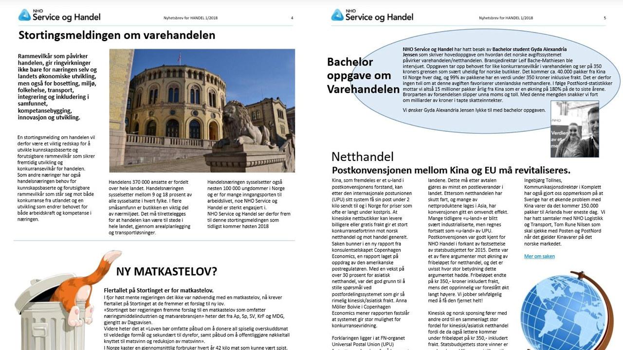 3c35d230 Nyhetsbrev for Handel