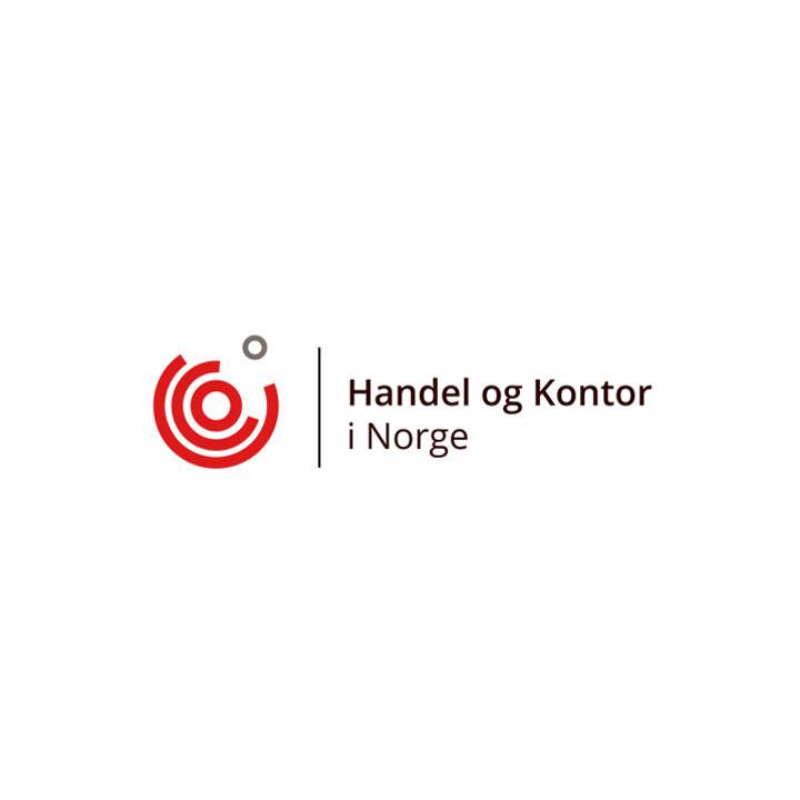 Handel og Kontor i Norges logo