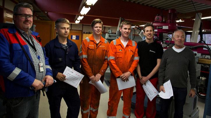 Laksevåg-eleven Martin Andre Undertun Bruvik vant på hjemmebane i tøff konkurranse mot TIP-elever fra Fusa, Austrheim og Knarvik. Nå er han på jakt etter læreplass.