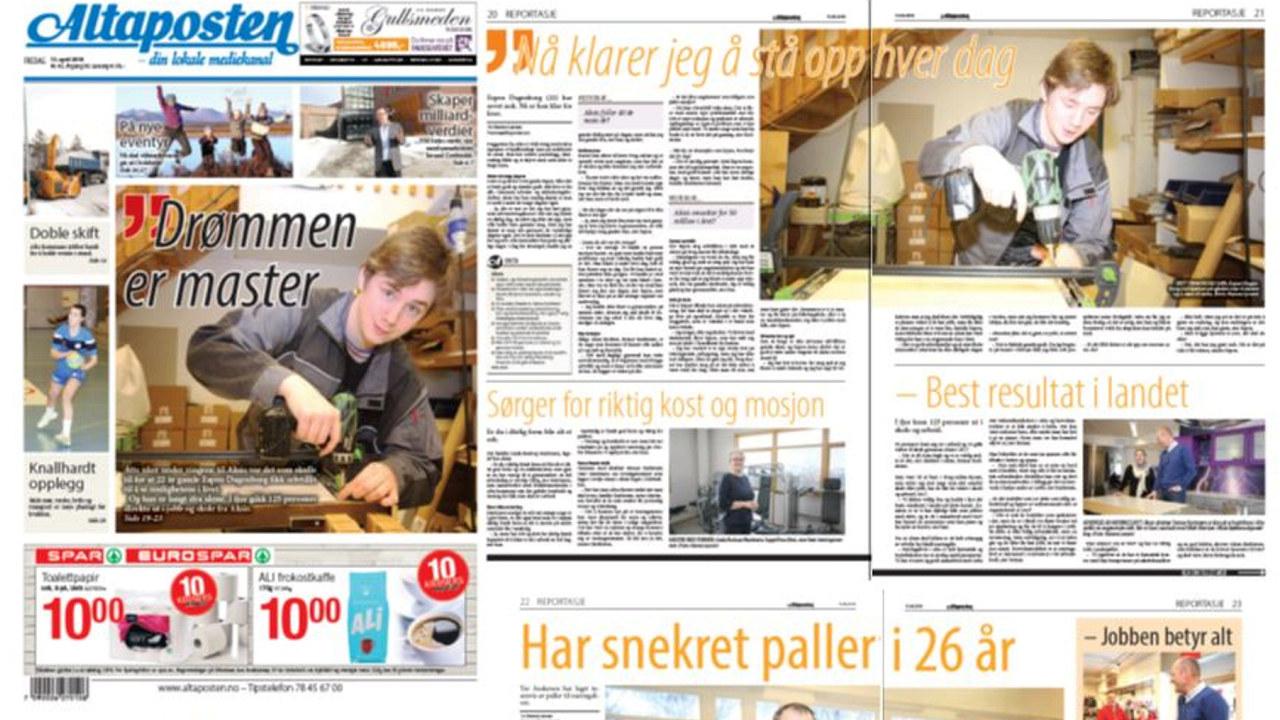 8 uker under vingene til Akisi var det som skulle til for at 22 år gamle Espen Dagenborg fikk selvtillit til å se mulighetene i livet.