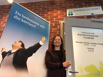Alle over 19 år kan få gratis karriereveiledning på Karrieresenteret Vestfold