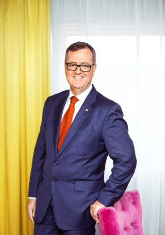 Morten Thorvaldsen, konserndirektør i Thon Hotels