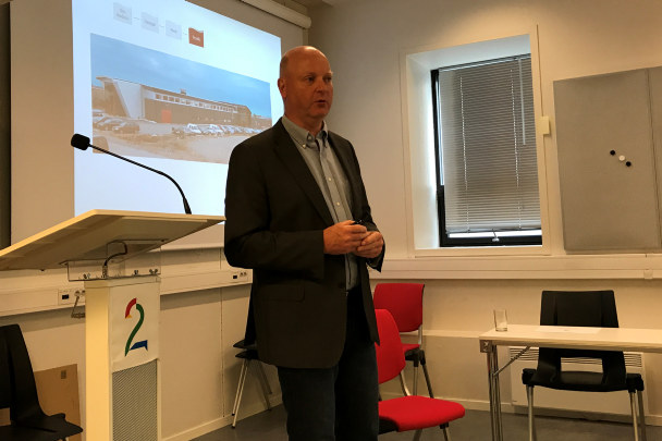 Bjarte Hordnes styreleder for den sammenslåtte regionforeningen NHO Vestlandet