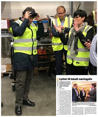 NHO Østfold inviterte statsråd Torbjørn Røe Isaksen til Østfold for å lære mer om innovasjon og forskning i næringslivet. Statsråden ble ikke skuffet.