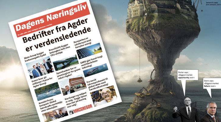 Onsdag gikk startskuddet for GPS (Green Plan Strategy) der ni av Sørlandets ledende bedrifter sammen skal lete etter lønnsomme bærekraftsstrategier og -prosjekter.