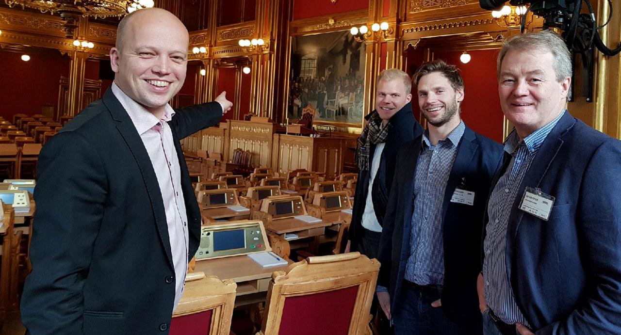 Ingjerd Sælid Gilhus, Næringspolitisk fagsjef