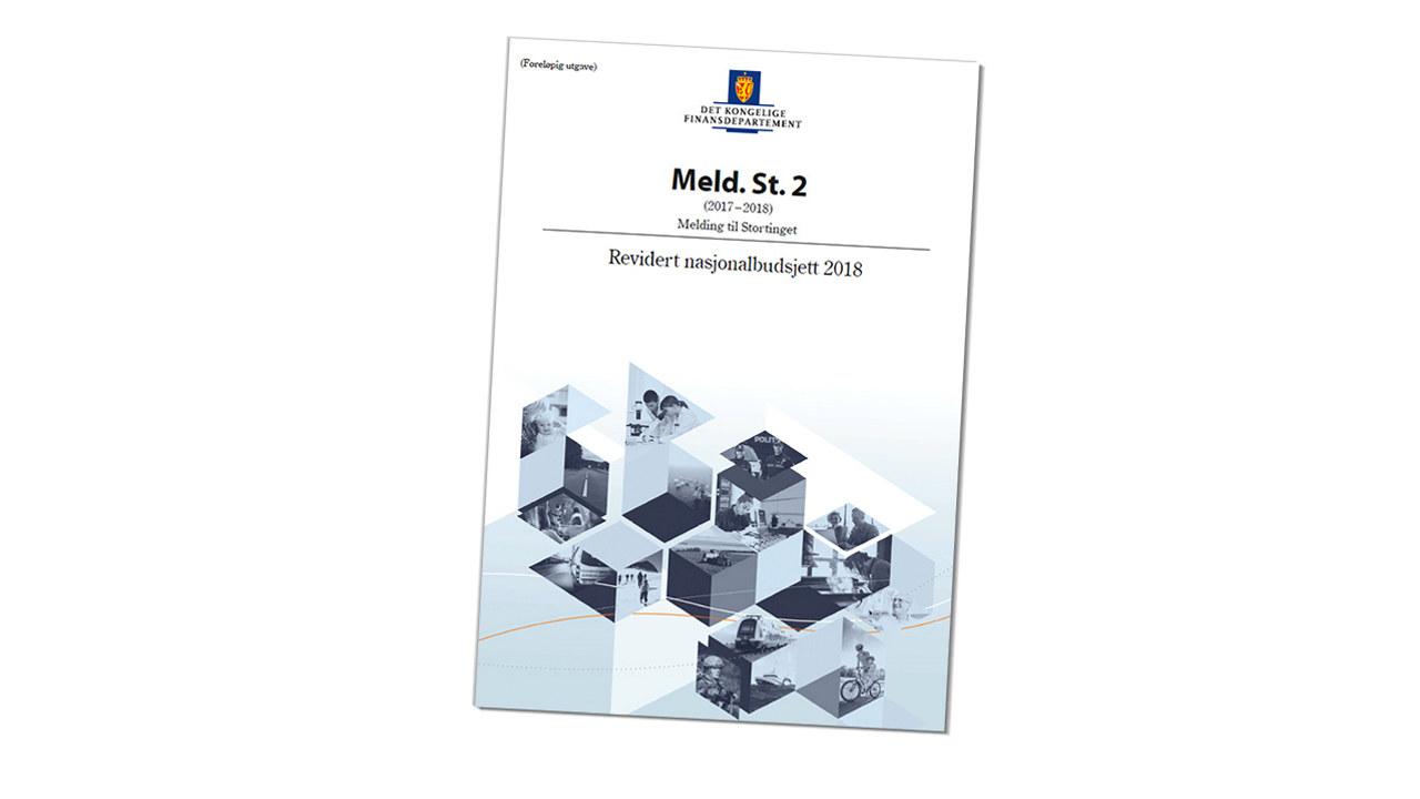 Forside - Revidert nasjonalbudsjett 2018