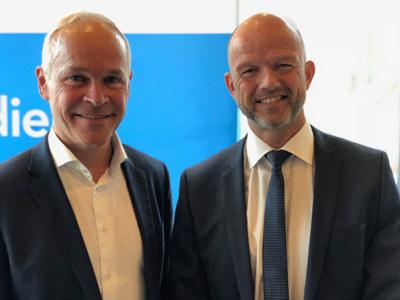 Kunnskapsminister Jan Tore Sanner var positiv til rapporten og til forslaget som ble lagt frem på NHO-konferansen Innovative lærlinger – innovative fagarbeidere.