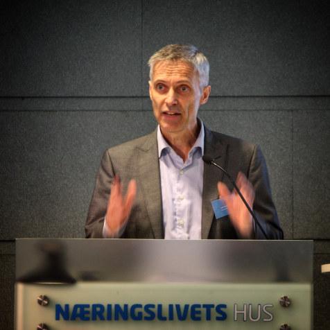 Styreleder Lars Holden i Forskningsinstituttenes fellesarena (FFA).