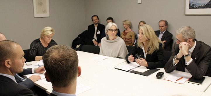 Skattealliansen møter finansministeren