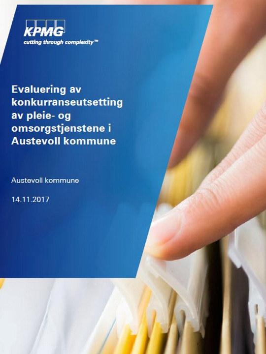 KPMG-Rapport konkurranseutsetting Austervoll