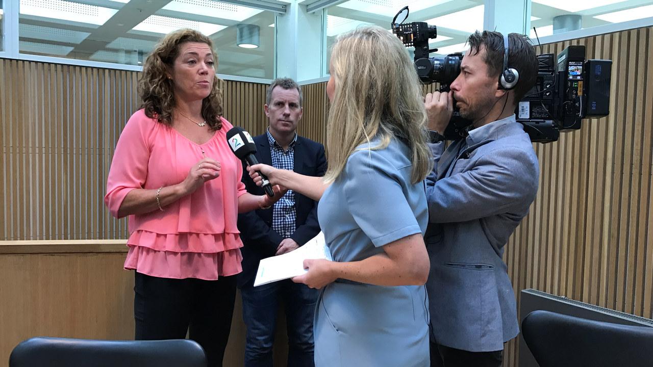 Pressekonferanse om skatteundersøkelse