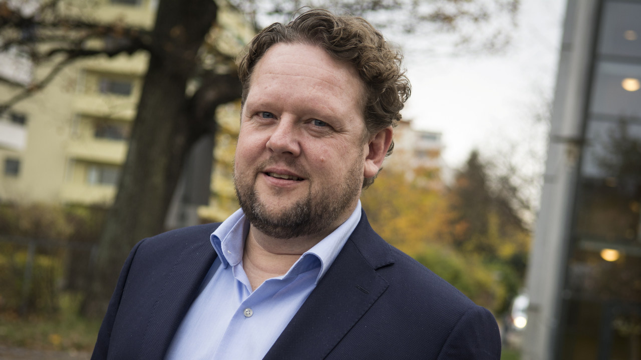 Bilde av Pål Molander, asom er direktør ved STAMI