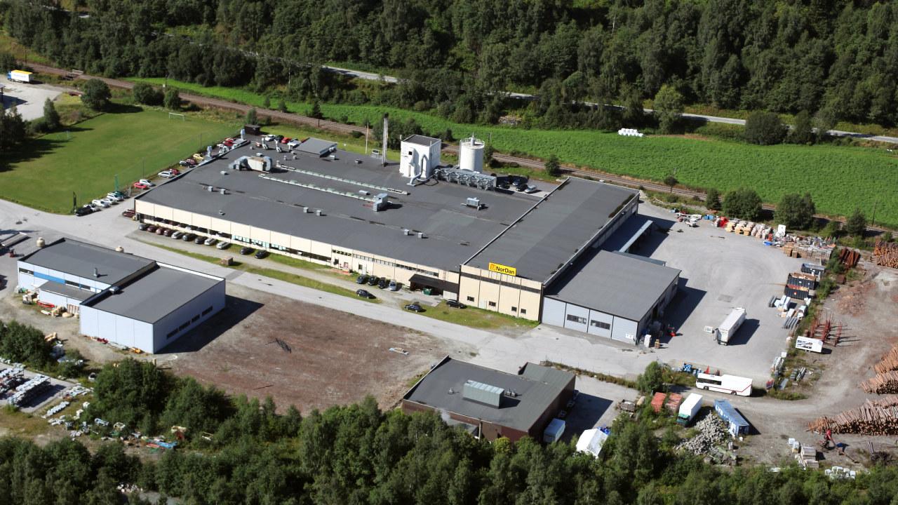 NorDans fabrikk på Otta