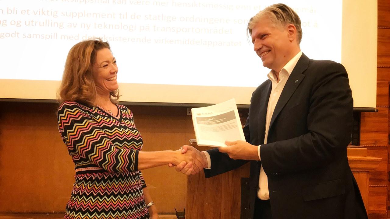 Kristin Skogen Lund og Ola Elvestuen