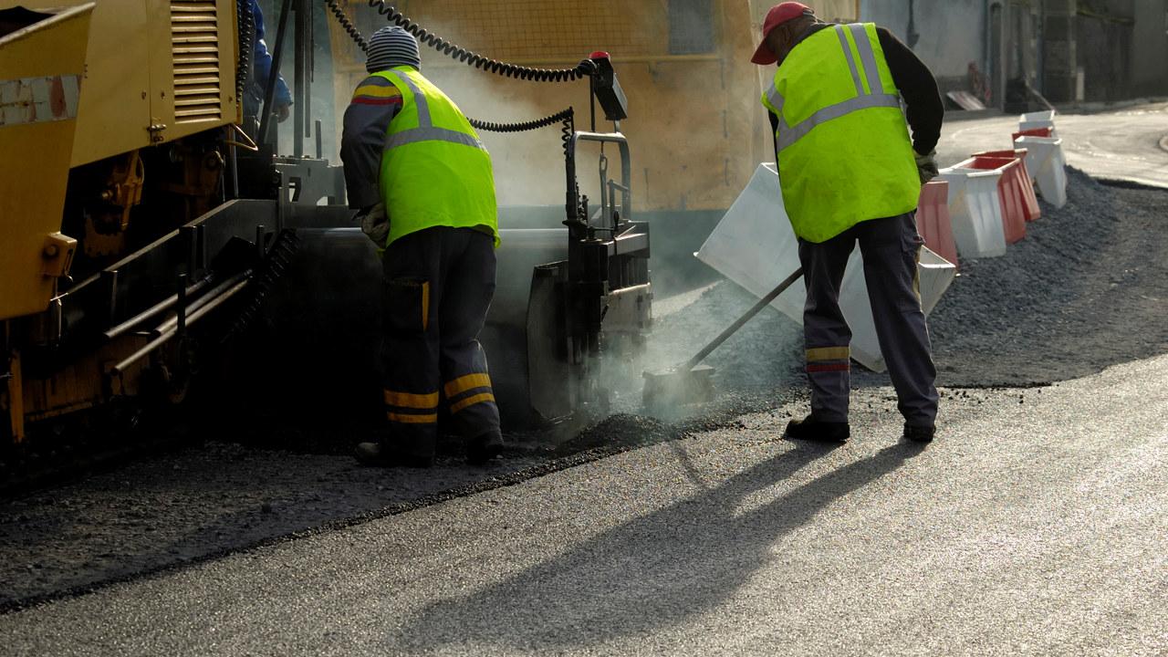 asfaltarbeid