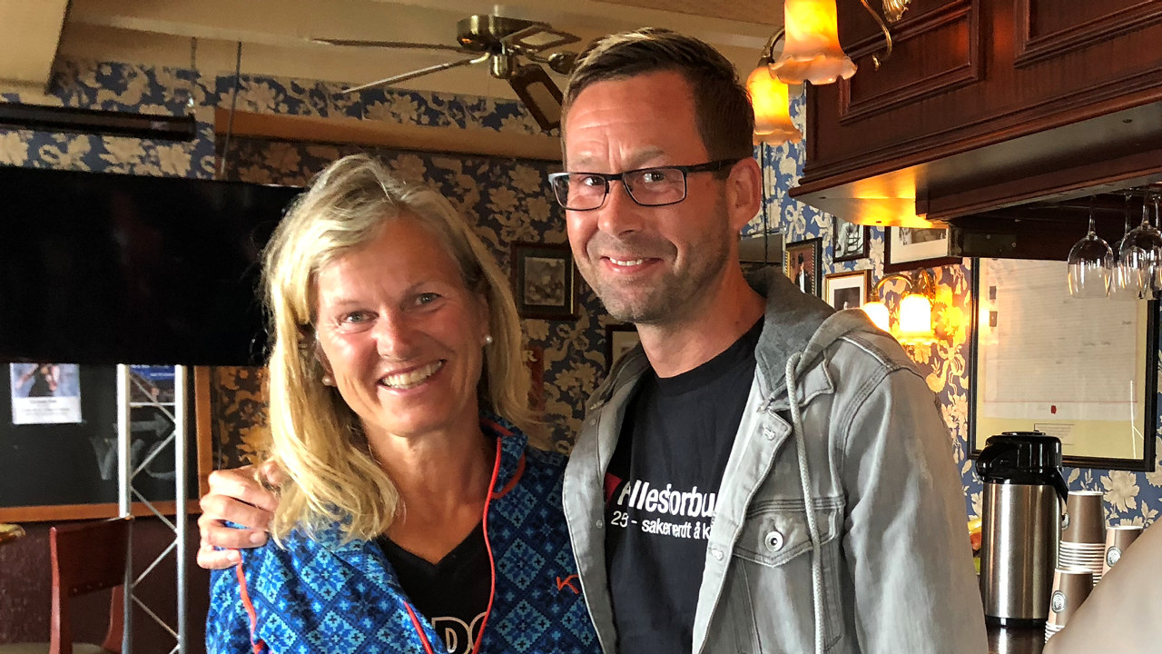 Clas Delp og Kristin Krohn Devold