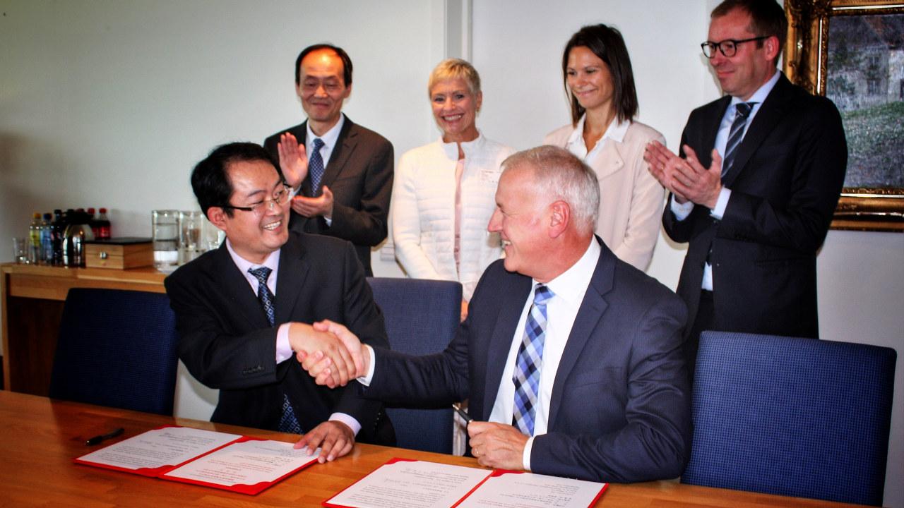 Dignio underskriver avtale med sykehuset St. Mount i Shanghai.