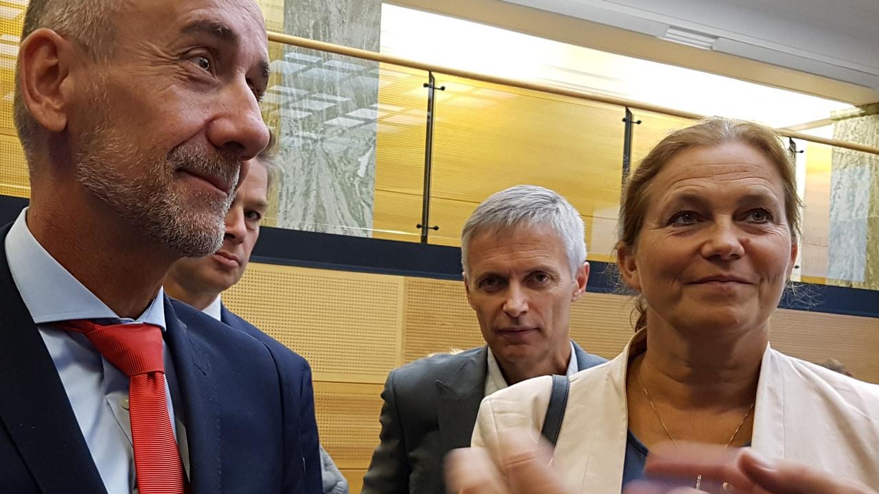 Den nye generaldirektøren for forskning og innovasjon i EU, Jean-Eric Paquet, møtte nylig blant annet Alexandra Bech Gjørv (SINTEF), Lars Holden (NR, styreleder FFA) og Nils Morten Huseby (IFE) for å diskutere EUs kommende forsknings- og innovasjonsprogram.