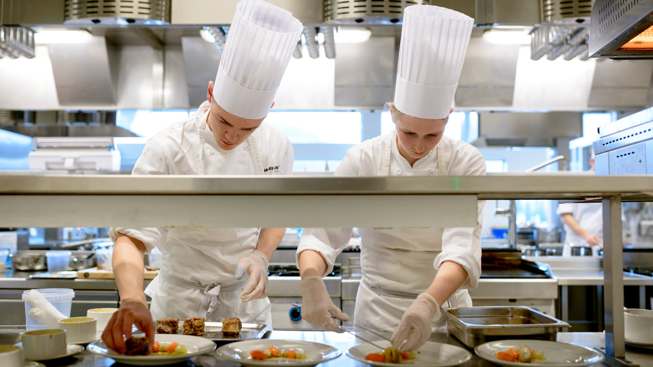 Kokkekonkurranse, lærlinger