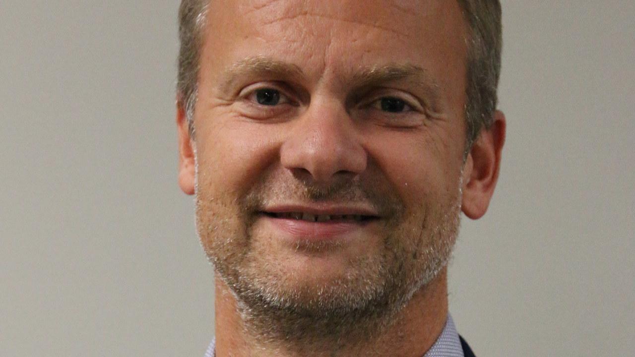 Portrett av HR-direktør Jørgen Magnussen i IBM Norge.