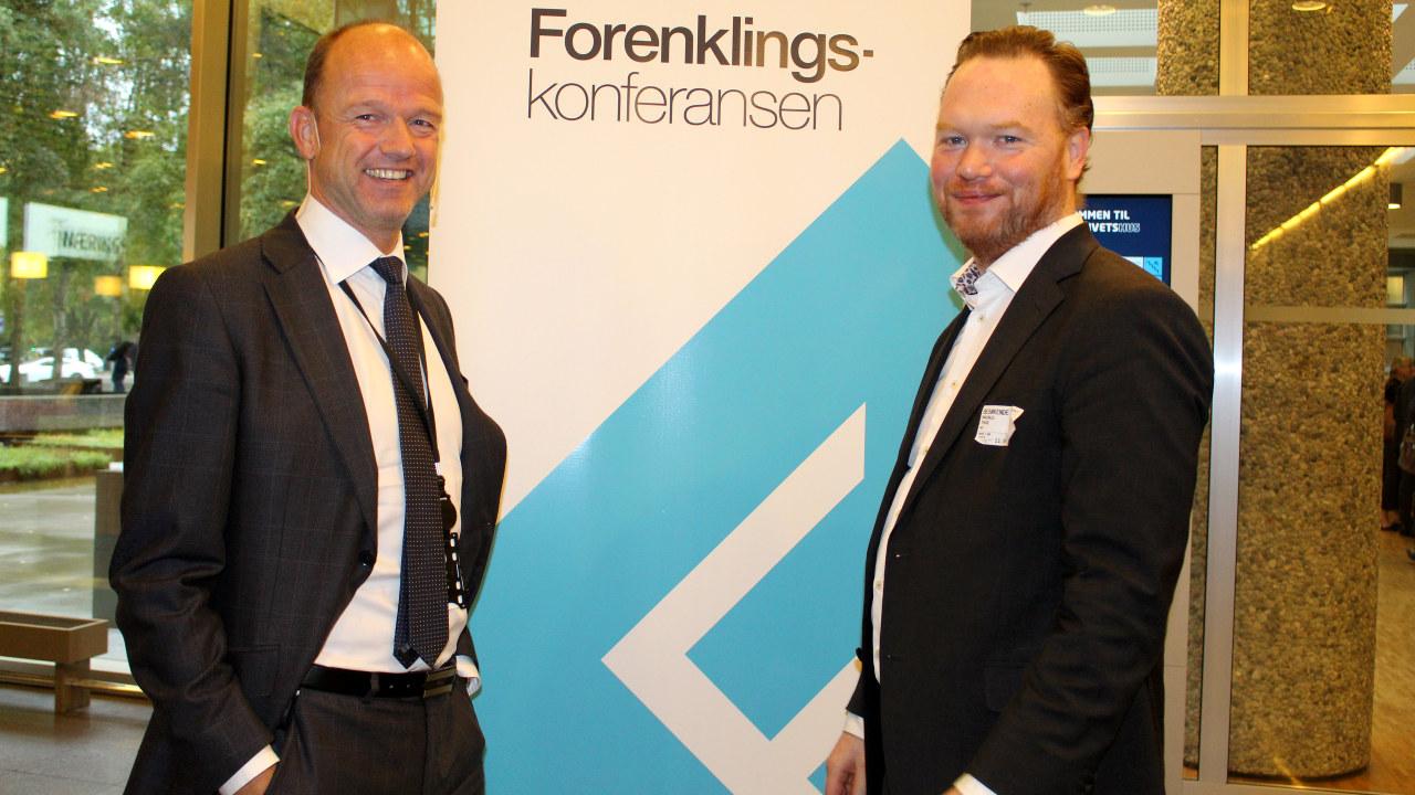 Ole Erik Almlid og Magnus Thue