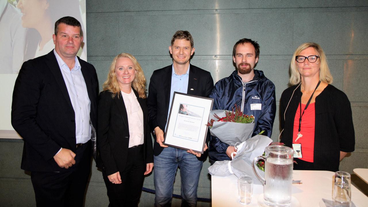 Utdeling av RIV-prisen til Nordvik