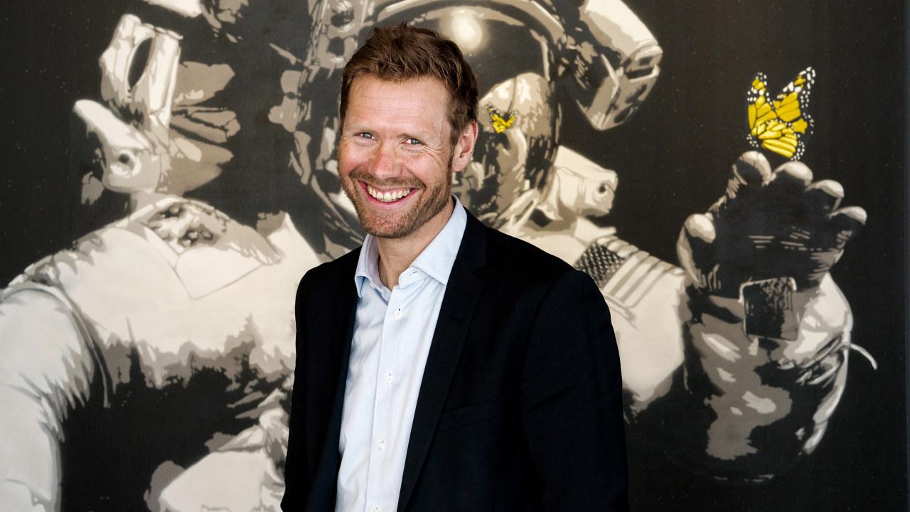 Portrett av administrerende direktør Lars Andresen i NGI.