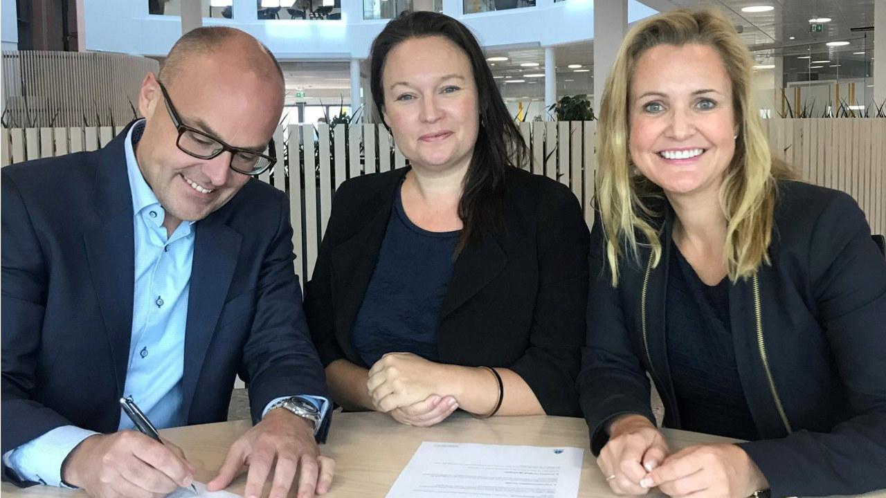 Coor signerte avtale