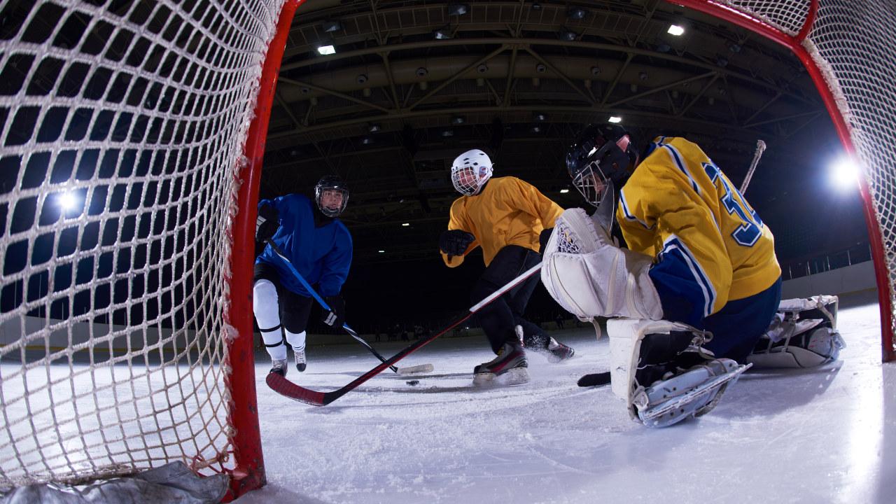 Illustrasjonsbilde - ishockey