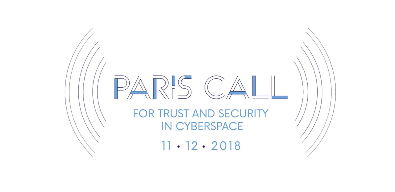 Logo - The Paris Call for Trust & Security in Cyberspace