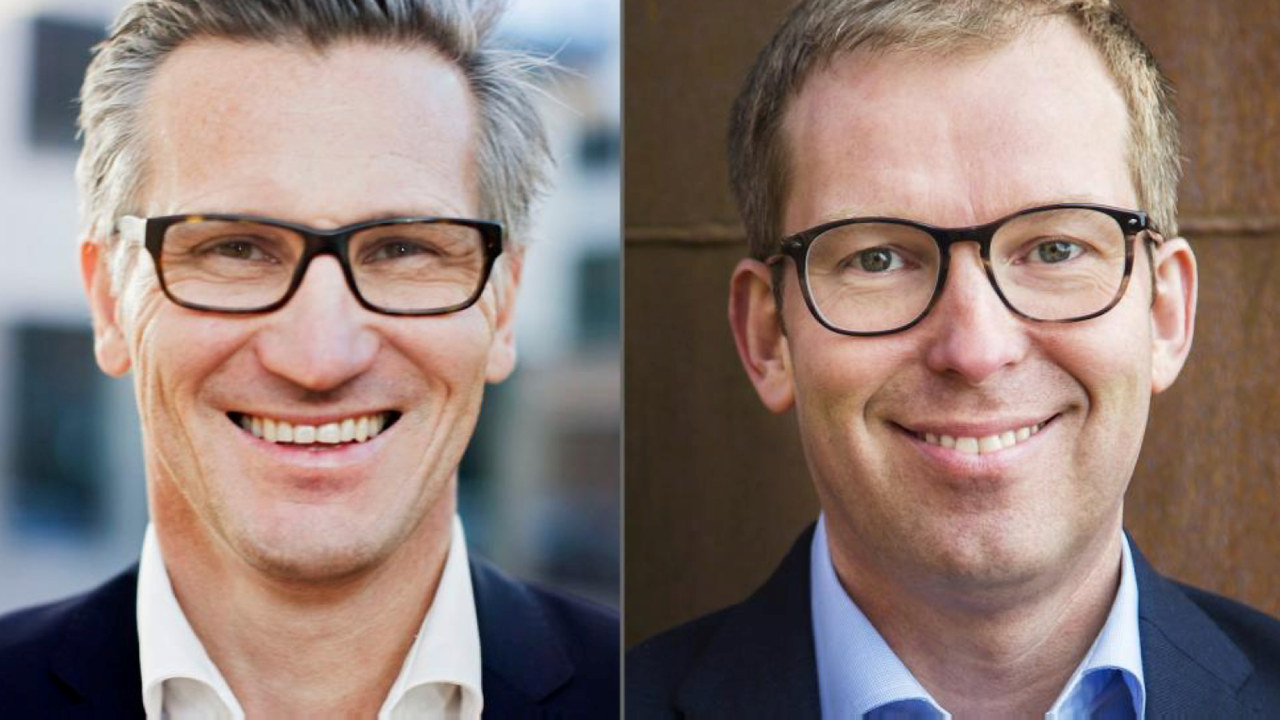 Administrerende direktør Bjørn Erik Thon i Datatilsynet og administrerende direktør Håkon Haugli i Abelia.