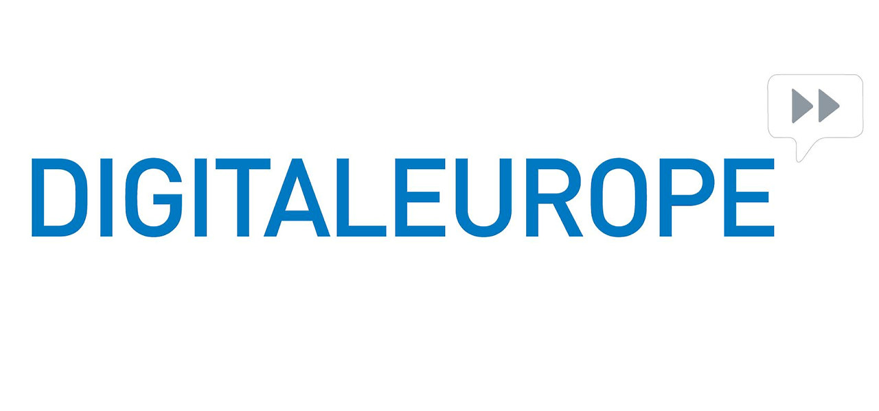Digital Europe, logo.
